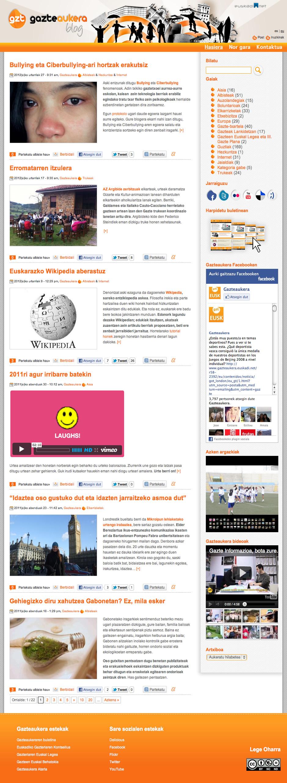 Portada Gazte Aukera blog