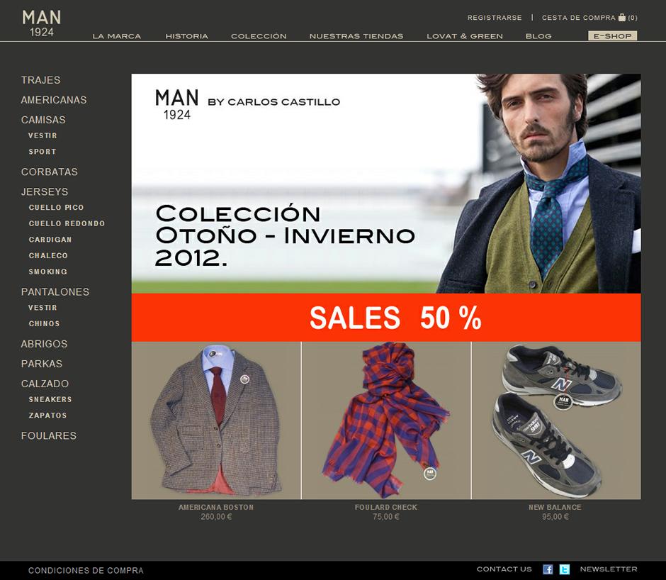 MAN 1924 - tienda