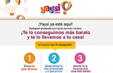 Yaysi mailing y landing page