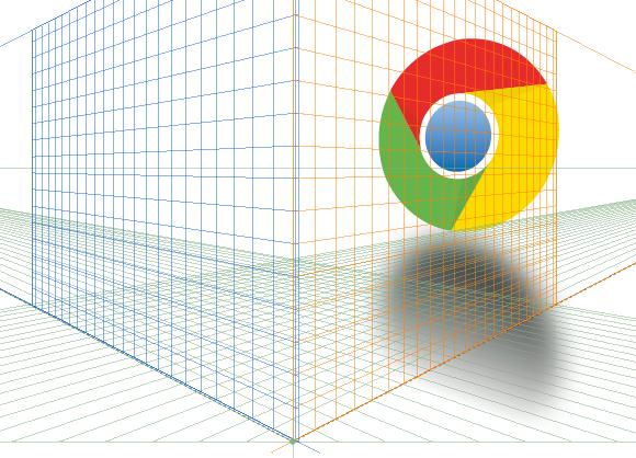 Logotipo con reflejo y filtros en Illustrator