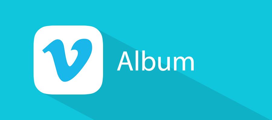 Vimeo Channel Gallery de tipo álbum