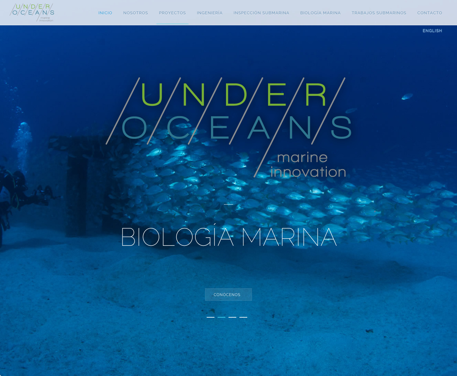 Under Oceans. Home