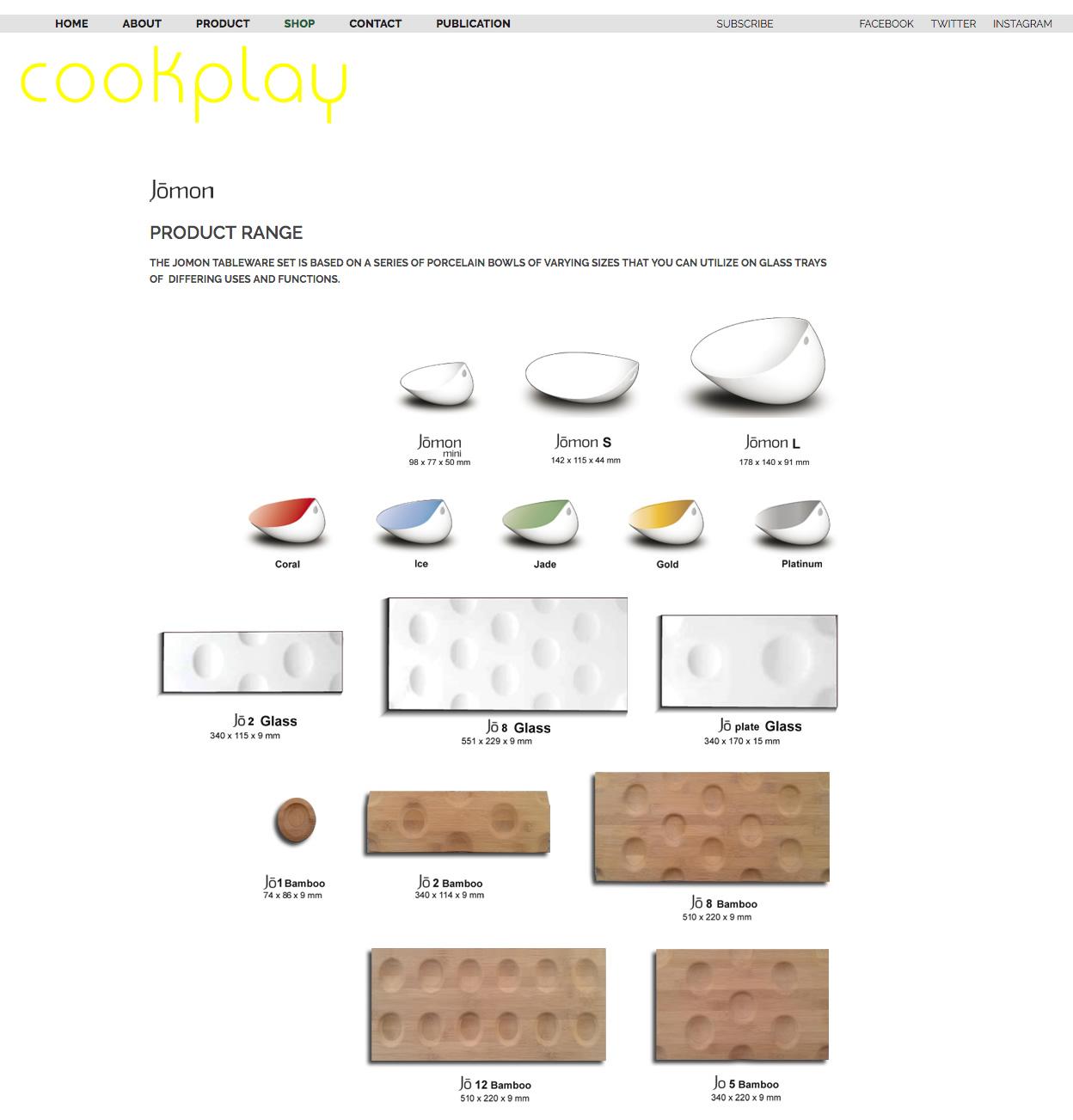 Cookplay shop