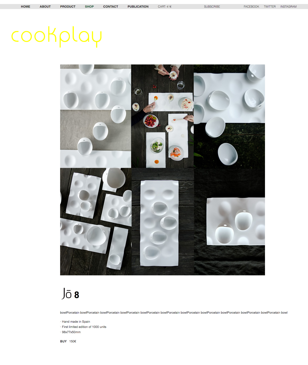 Cookplay. Product 2